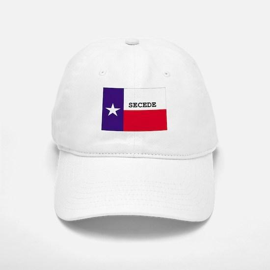 Texas Secede! Baseball Baseball Cap