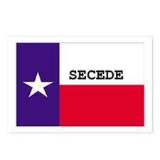 Texas Secede! Postcards (Package of 8)