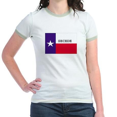 Texas Secede! Jr. Ringer T-Shirt
