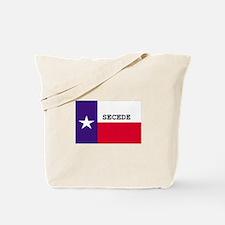 Texas Secede! Tote Bag