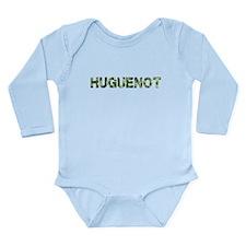 Huguenot, Vintage Camo, Long Sleeve Infant Bodysui