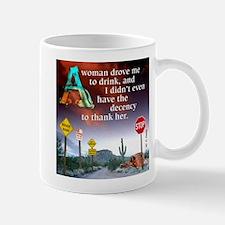 Drove to Drink Mug