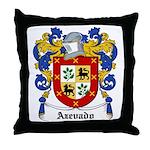 Azevado Coat of Arms Throw Pillow