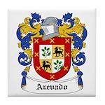 Azevado Coat of Arms Tile Coaster