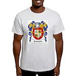 Azevado Coat of Arms Ash Grey T-Shirt