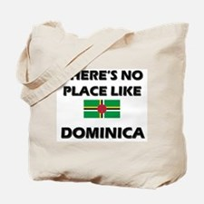 There Is No Place Like Dominica Tote Bag