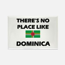 There Is No Place Like Dominica Rectangle Magnet