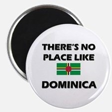 There Is No Place Like Dominica Magnet