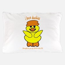 DUCK - LOVE TO BE ME Pillow Case