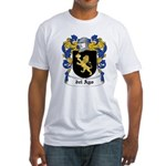 del Ayo Coat of Arms Fitted T-Shirt