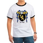 del Ayo Coat of Arms Ringer T