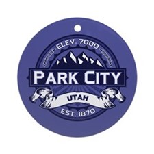 Park City Midnight Ornament (Round)