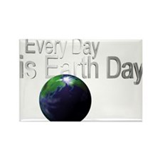 EveryDayisEarthDay3.png Rectangle Magnet