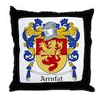 Arrufat Coat of Arms Throw Pillow