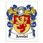 Arrufat Coat of Arms Small Poster