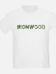 Ironwood, Vintage Camo, T-Shirt