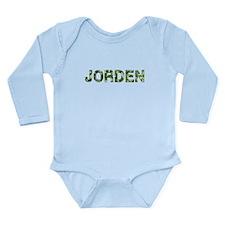 Jorden, Vintage Camo, Long Sleeve Infant Bodysuit