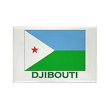 Djibouti Flag Stuff Rectangle Magnet