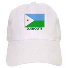 Djibouti Flag Stuff Hat