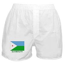 Djibouti Flag Stuff Boxer Shorts
