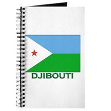 Djibouti Flag Stuff Journal