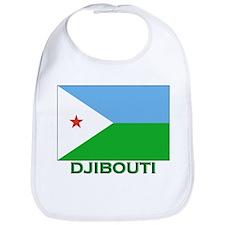 Djibouti Flag Stuff Bib