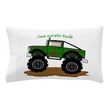 Monster truck Pillow Cases