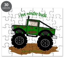 MONSTER TRUCK - LOVE TO BE ME Puzzle