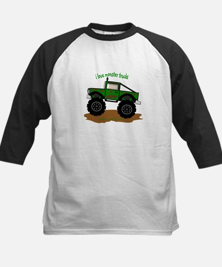 MONSTER TRUCK - LOVE TO BE ME Kids Baseball Jersey