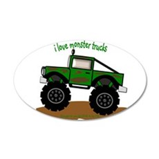MONSTER TRUCK - LOVE TO BE ME Wall Decal