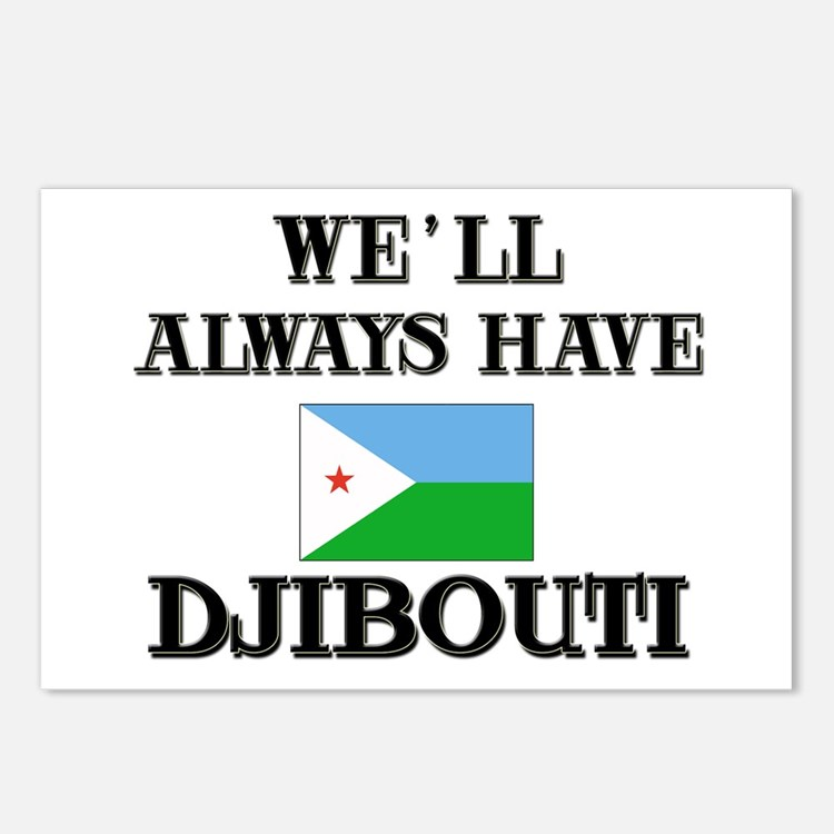 We Will Always Have Djibouti Postcards (Package of