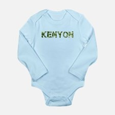 Kenyon, Vintage Camo, Long Sleeve Infant Bodysuit