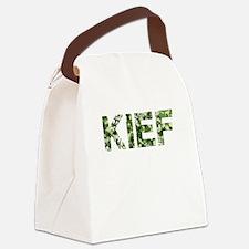 Kief, Vintage Camo, Canvas Lunch Bag