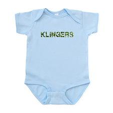 Klingers, Vintage Camo, Infant Bodysuit