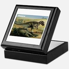 Allosaurus Dinosaur Keepsake Box