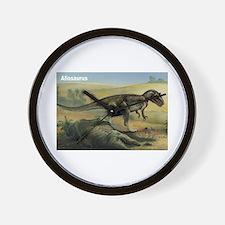 Allosaurus Dinosaur Wall Clock