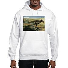 Allosaurus Dinosaur (Front) Hoodie