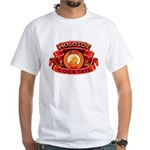 Molotov Cocktail White T-Shirt