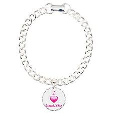 I Love/Heart Armadillos Bracelet