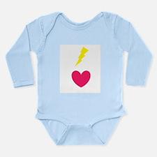 Flashheart Long Sleeve Infant Bodysuit