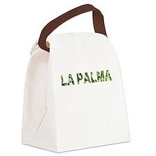 La Palma, Vintage Camo, Canvas Lunch Bag