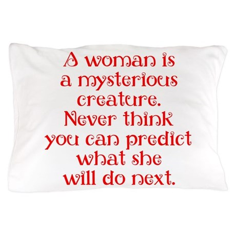 Mysterious Creature Pillow Case