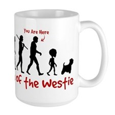 westie_evolution_coffee Mugs