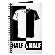 Half n Half T-shirt Journal