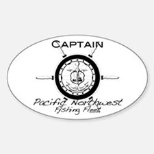 Captains Gear Oval Decal