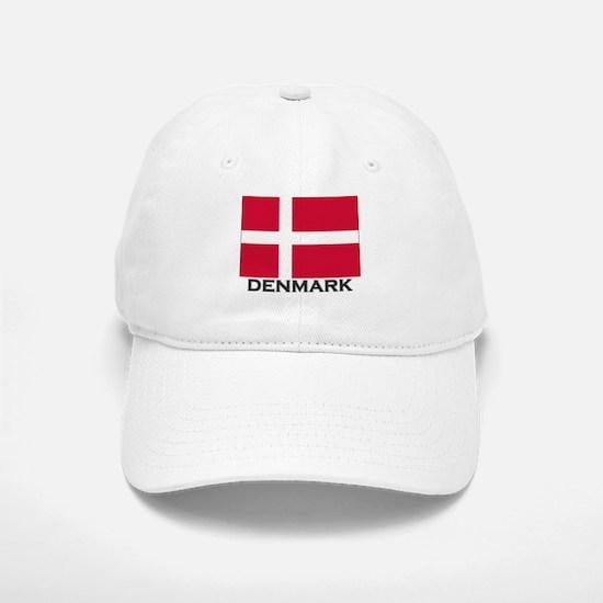 Denmark Flag Gear Baseball Baseball Cap