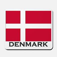 Denmark Flag Gear Mousepad