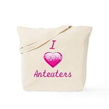 I Love/Heart Anteaters Tote Bag
