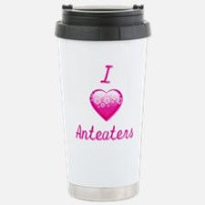 I Love/Heart Anteaters Travel Mug