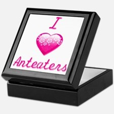 I Love/Heart Anteaters Keepsake Box